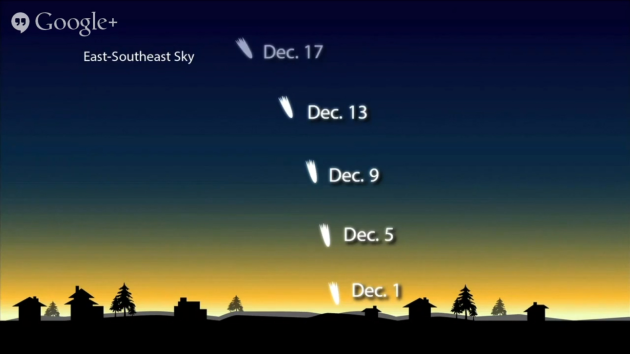 Comet ISON viewing