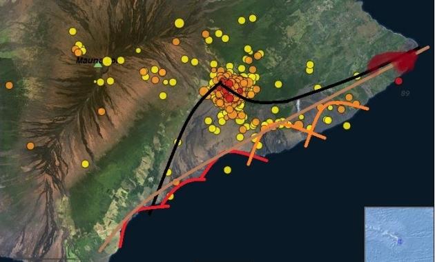 Kilauea quakes 7-19-2018
