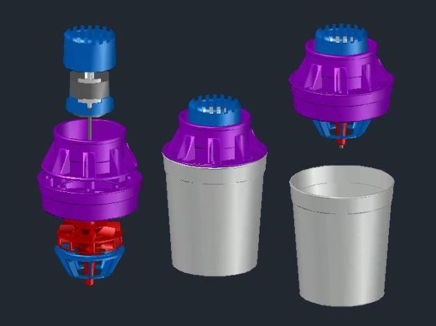 Airwasher T6 blowup